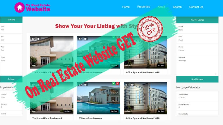 Attractive Discounts for Real Estate Sales personals