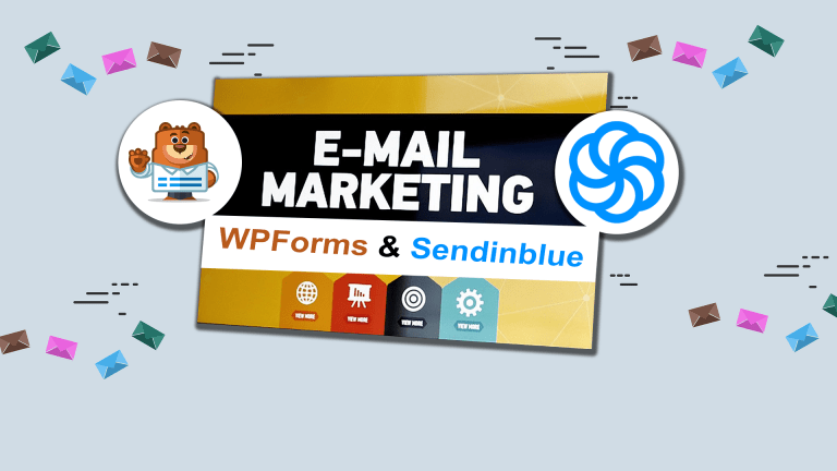 Smartly Grow Your Email List With a Combination of Sendinblue and WPForms