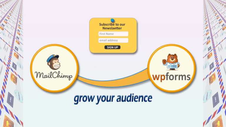 Mailchimp & WPForms – A convenient way to add subscribe form to your Website